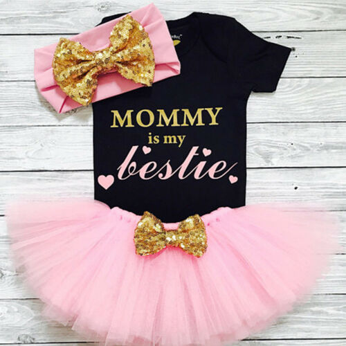 us 3pcs newborn baby girl clothes romper
