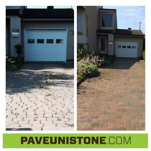HIGH PRESSURE CLEANING DRIVEWAY'S, CONCRETE, AROUND POOLS, STONE West Island Greater Montréal image 9
