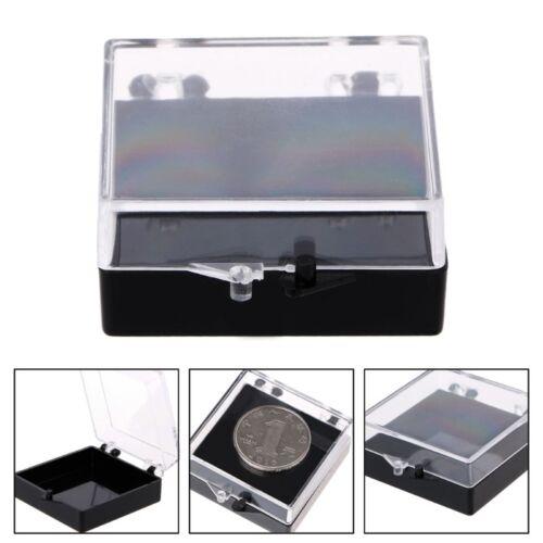 Square Storage Case Parts Badge Holder Multipurpose Box Scre
