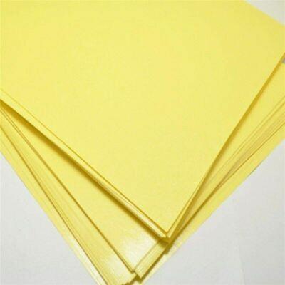 10pcs A4 Toner Heat Transfer Paper Yellow Diy Pcb Electronic Prototype Mark