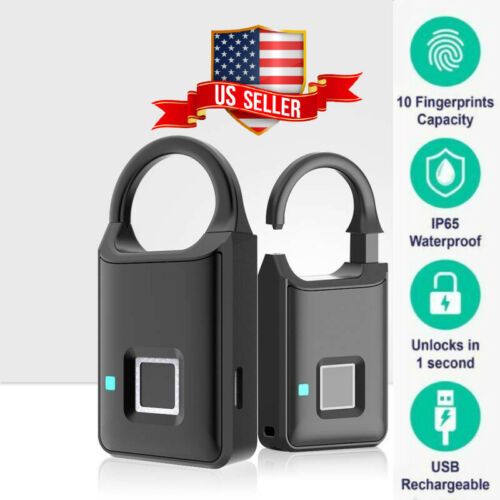Keyless Fingerprint Waterproof Biometric Padlock