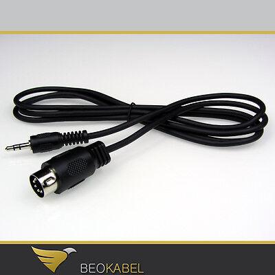 (7,67€/m) Audiokabel 1,5m für B&O z.B. Smartphone / Klinke an BANG & OLUFSEN AUX