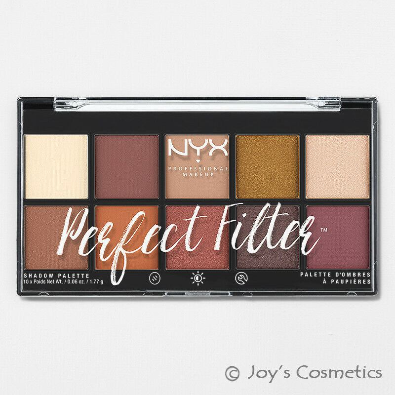 "1 NYX Perfect Filter Shadow Palette - Eye "" PFSP02 - Rustic"