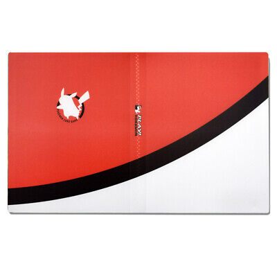 Pokemon 240 Cards Album Binder Folder Book List Collectors Capacity Holder Red