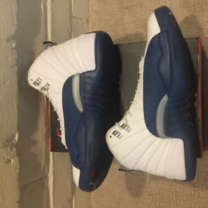 French blue retro 12s Size 10