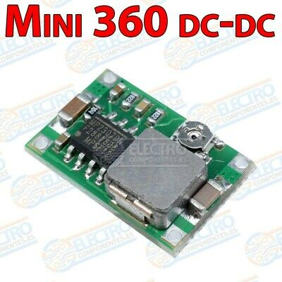 Modulo alimentacion Mini 360 MP2307 DC-DC Buck Step Down Power Supply Mini360