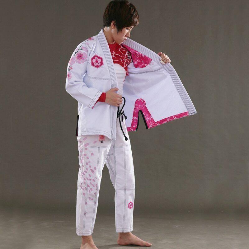 Womens Ultra Light BJJ Gi Jiu Jitsu Bamboo Fabric Kimono MMA