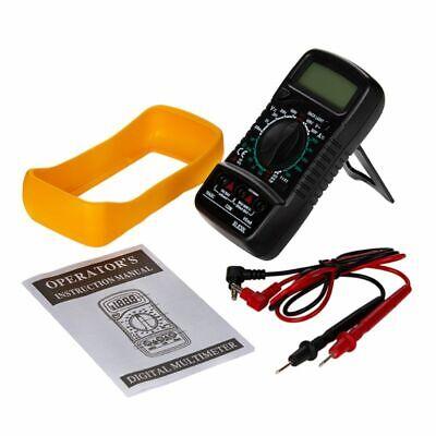 Digital Multimeter Backlight Acdc Ammeter Voltmeter Ohm Tester Meter Xl830l Lcd