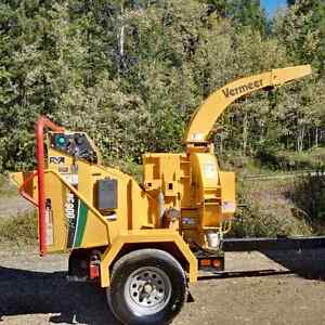 Brush Wood Chipper Vermeer BC900XL 2015