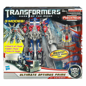 Transformers Ultimate Optimus Prime DOTM Action Figure Toy New