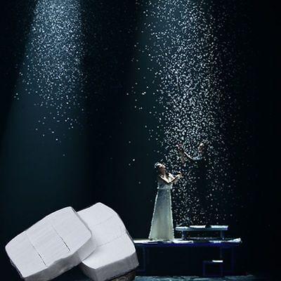 12pcs White Snow Paper Snowstorm Magic Trick Halloween Xmas Stage Prop RGG ()