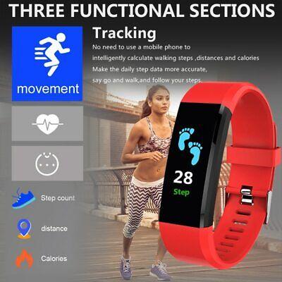 Best Watch Measure Blood Pressure & Heart Rate Fitness Tracker Sport Watch ()