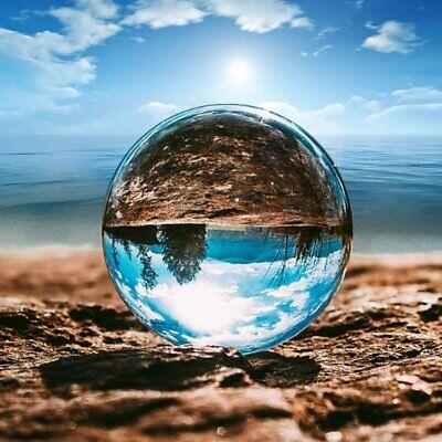 100mm Fotokugel Glaskugel Klar Kristallkugeln Ohne Lufteinschlüsse Fotografie YL Luft Glas
