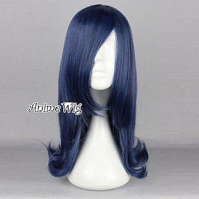 Lolita Mädchen Anime Cosplay Wig Perücke Kostüm Haar - Blaue Haare Mädchen Kostüm
