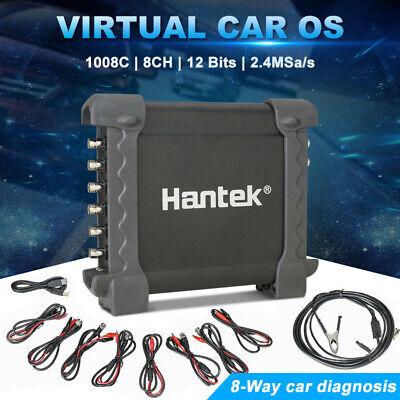 Hantek 1008c 8ch Pc Usb Automotive Daq Diagnostic Digital Generator Oscilloscope