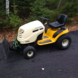 F/S: Cub Cadet Tractor with Plow