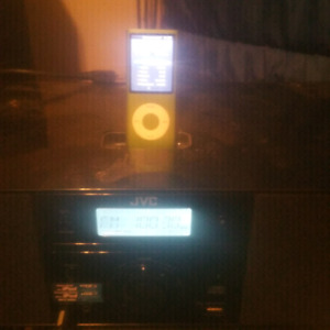 Jvc I pod doc/mini stereo with ipod 2gb of songs