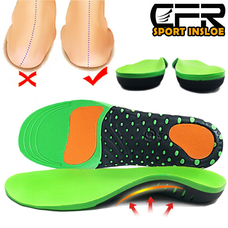 orthotic shoes insoles inserts flat feet high