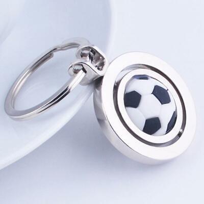 Key Ring Soccer Ball Rotating Ball Key Chain Decor Keychain Football Tool BL3 - Soccer Ball Keychains