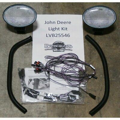 John Deere Lvb25546 Front Work Light Kit - 3120 3203 3320 3520 3720 4105 4120 43