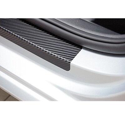 4X 3D Black Carbon Fiber Door scuff Plate Guards Protect Stickers For BMW X5 E70