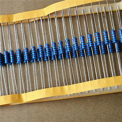 1w Metal Film Resistor 1 1 Watt 1 Ohm 10r 100r 220r 1k Ohm 4.7k To 1m Ohm