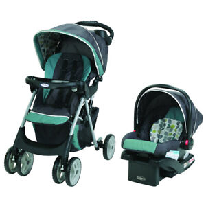 Graco stroller- Travel System with car seat and base........