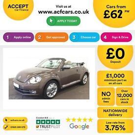Volkswagen Beetle 2.0TDI ( 140ps ) 2014MY 70s FROM £62 PER WEEK!