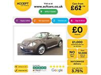 Volkswagen Beetle 2.0TDI ( 140ps ) 2014MY 70s FROM £62 PER WEEK!