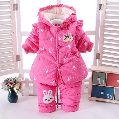 Winter Clothes For Girls Clothing Sets Thick Warm Kids Suits Infant Baby Outfits - Thick Girl Outfits