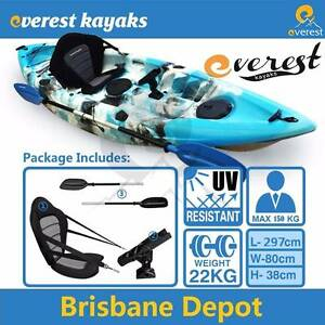 【EOFY】Single Double 2.5 Pro Fishing Kayak Package Deal Brendale Pine Rivers Area Preview