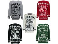 JOB LOT CHRISTMAS JUMPERS. NEW AND UNUSED. IDEAL FOR RETAIL/WHOLESALE!