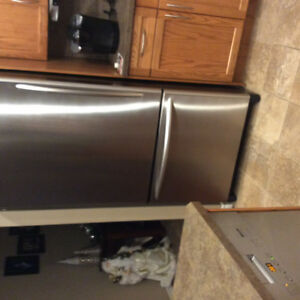 KitchenAid Bottom Mount Refrigerator with Ice Maker