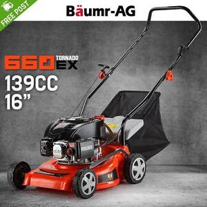 """16"""" Lawn Mower 139cc Push Lawnmower 4 Stroke Engine Catch 5HP Adelaide CBD Adelaide City Preview"""