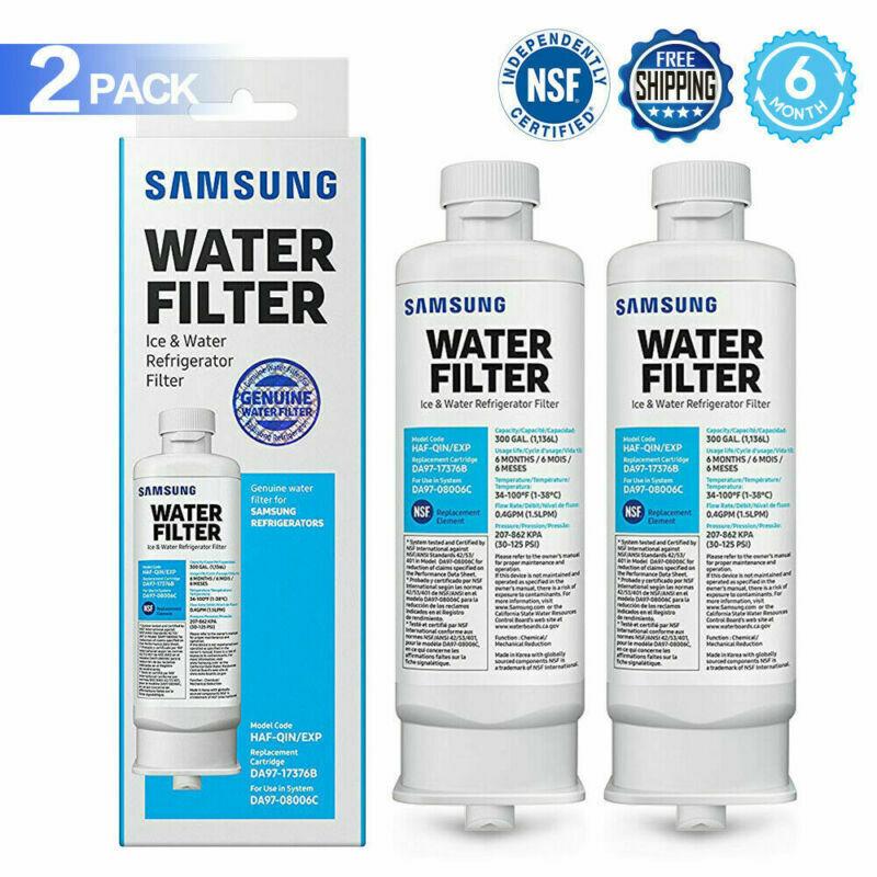 2Pack Samsung HAF-QIN Refrigerator Water Filter DA97-17376B for DA97-08006C New