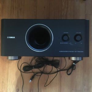 Yamaha Soundbar and Subwoofer (YSP-600 and YST-FSW050)