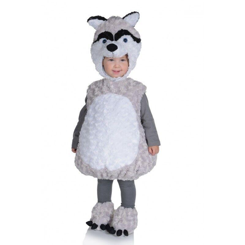 Underwraps Husky Belly Babies Plush Fur Child Boys Halloween Costume 25860