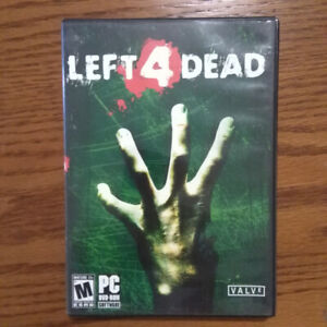 PC Games - Left for Dead, Call of Duty + More