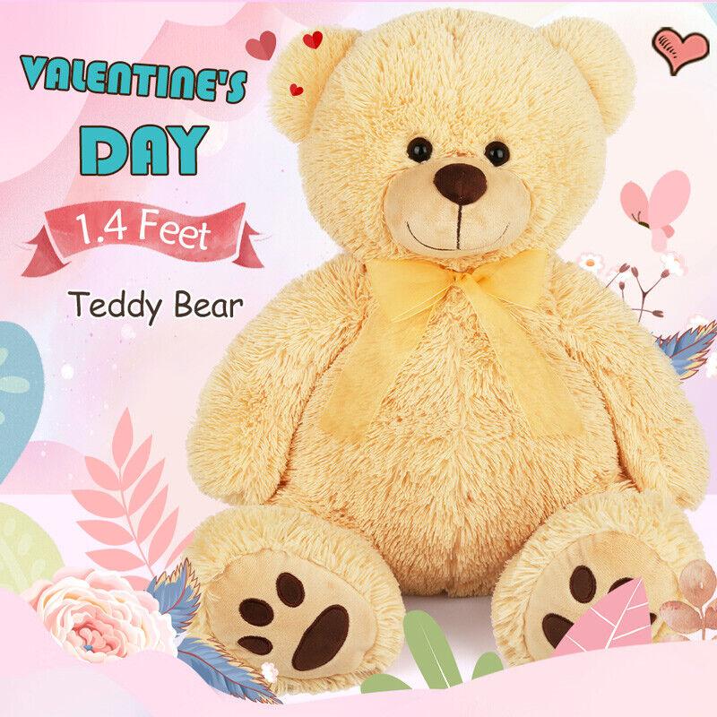 17'' Large Stuffed Plush Teddy Bear Doll Dog Retriever Anima