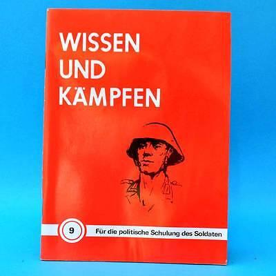 Wissen und kämpfen # 9 | Für die politische Schulung des Soldaten | DDR NVA 1982