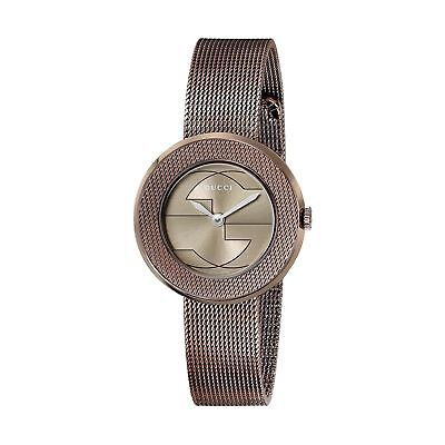 Gucci YA129520 Women's U-PLAY Brown Quartz Watch