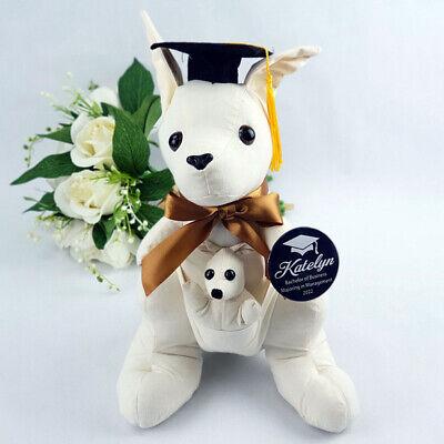 Autograph Graduation Bear (Personalised Graduation Signature Autograph Kangaroo | Personalised)