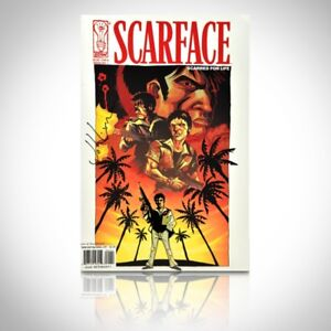 'SCARFACE SCARRED FOR LIFE #1 - HANDSIGNED BY JOHN LAYMAN' Comic