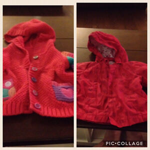 baby girl coat/sweater