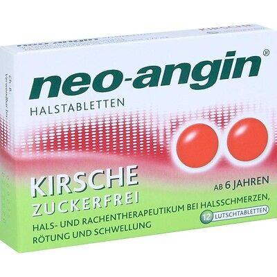 NEO ANGIN Halstabletten Kirsche   12 st   PZN10994817