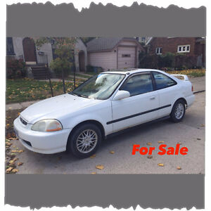 *Attention Mechanics* 1998 Honda Civic Si Coupe (2 door)