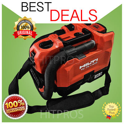 Hilti Vc 75-1-a22 Vacuum Cleaner 2 Batteries Fast Shipping