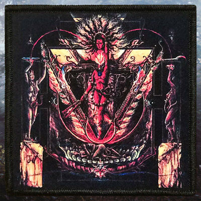 Cult Of Fire   Life  Sex   Death   Printed Patch   Black Metal
