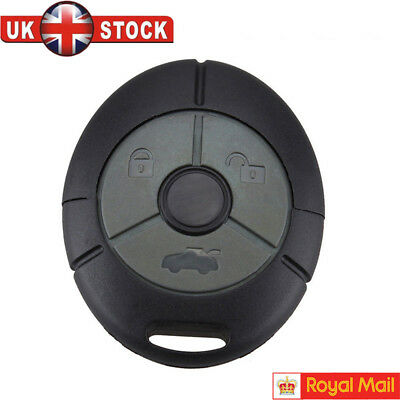 NEW Fits Rover MG TF ZR ZS 25 45 Streetwise 3 Button Remote Key Fob Case Shell