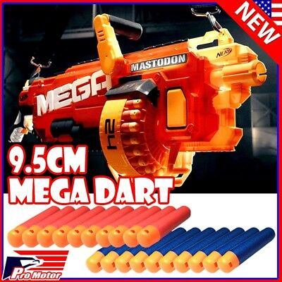Lot Refill Foam Bullet Darts 9.5 cm For Nerf N-Strike Elite Mega Toys Gun USA